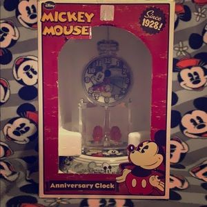 Mickey Mouse Anniversary Clock